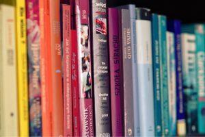 Rainbow of books