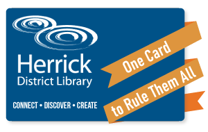 Photo of library card