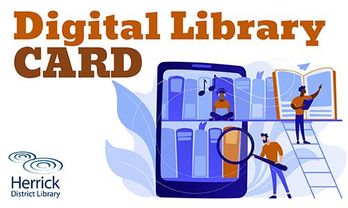 Digital Library Card image