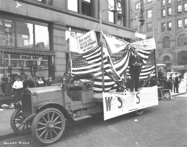 1918 Tacoma Labor Day parade