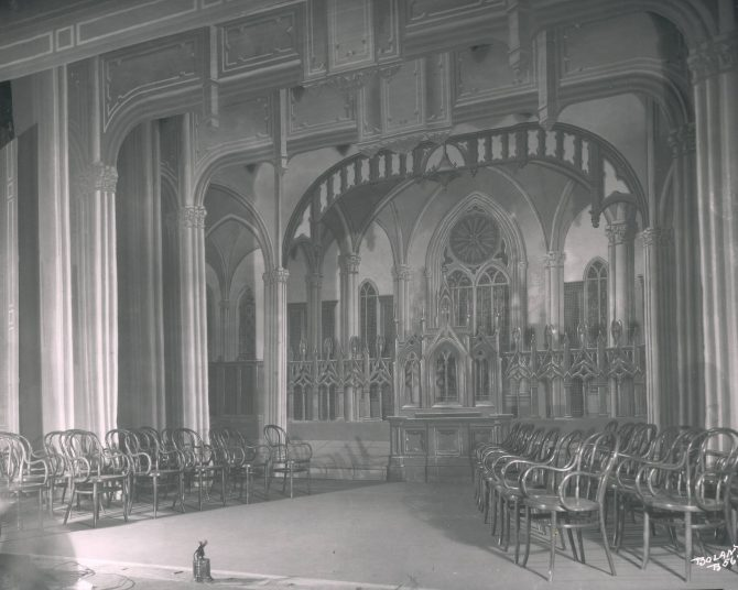 Image of the interior of the Scottish Rite Cathedral