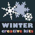 creative kits winter square