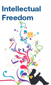 cover of intellectual freedom hand out
