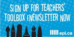 Sign up button for Teachers' eNewsletter