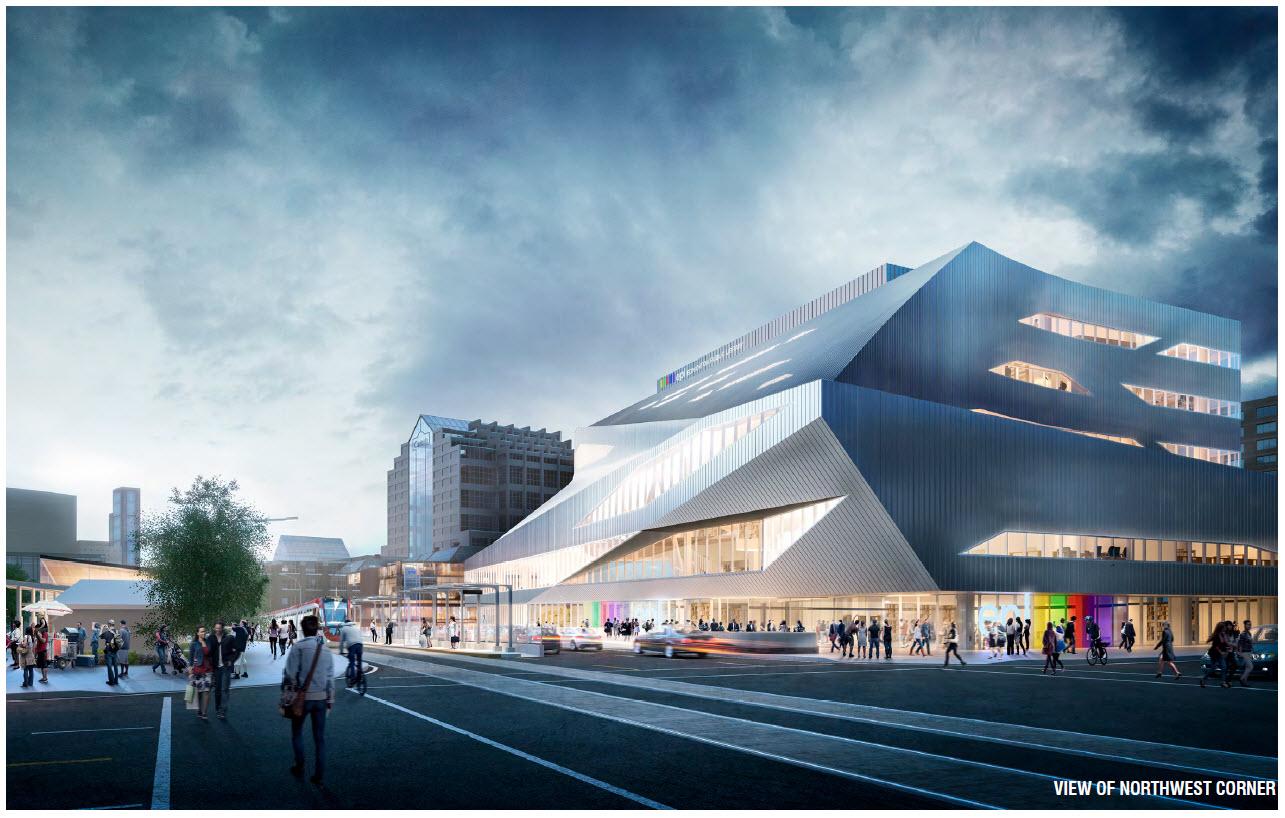 Renderings, Edmonton Library, New Library, Stanley Milner Revitalization
