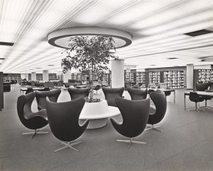 Stanley A. Milner, Library, 1967, Centennial Library, Milner Library