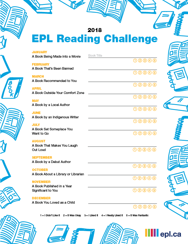 photograph regarding Who Was Book Series Printable List referred to as Sign up for the 2018 EPL Examining Problem Edmonton General public