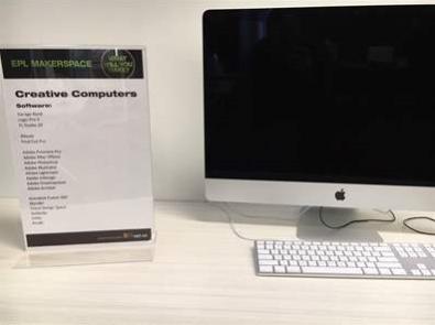 iMac creative computer
