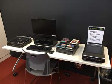 Capilano's digital conversion station