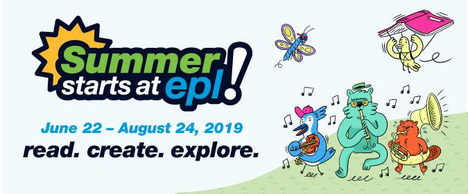 Summer Starts   Edmonton Public Library