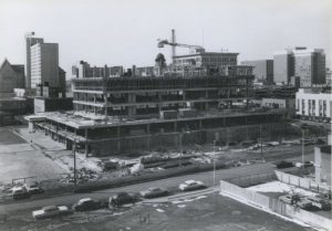 Centennial Library in the 1960's