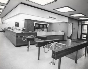 Centennial Library Interior in 1967