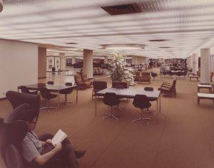 Centennial Library Interior in 1967