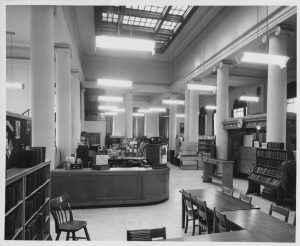 Main Library Interior in 1959