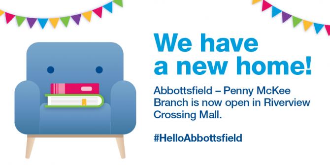 <p>New Abbottsfield Branch is now Open | Edmonton Public Library</p>