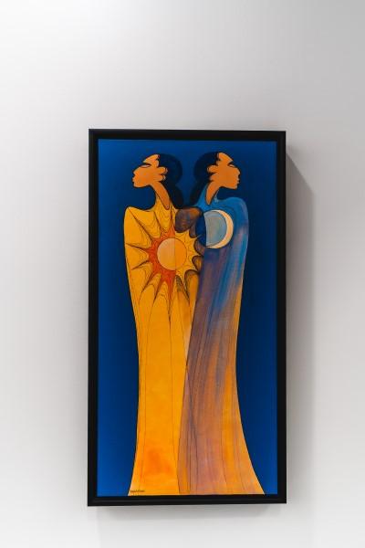 A piece by Maxine Noel (loyan Mani)