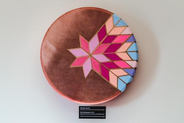 Pink Starblanket by Michelle Sound