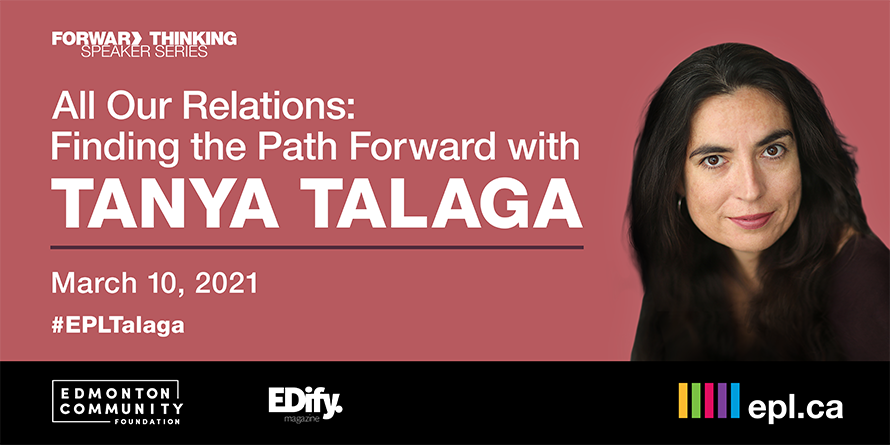Forward Thinking Speaker Series Tanya Talaga
