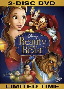 Beauty and the Beast Disney Animated Movie cover