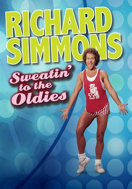 Richard Simmons Sweatin' To the Oldies cover art