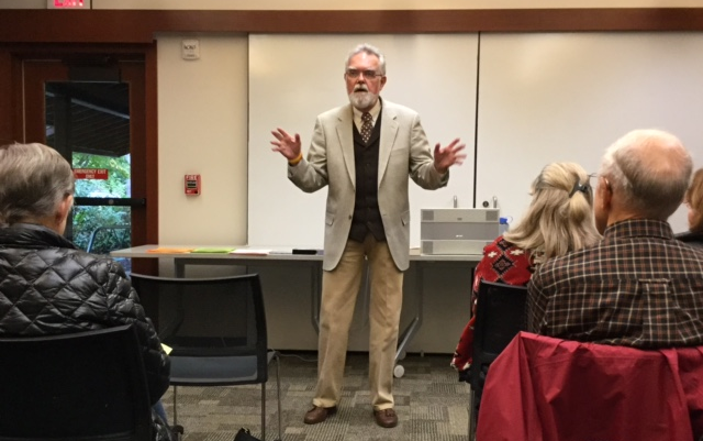 Opera Preview With Norm Holligshead At Newport Way Library King