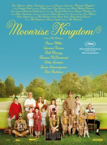 Movie poster for Moonrise Kingdom