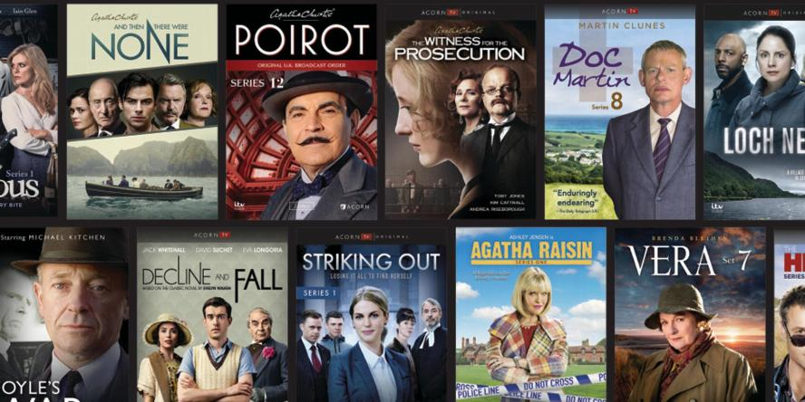 Acorn TV on hoopla: And Then There Were None, The Witness for the Prosecution, Poirot, Doc Martin, Loch Ness, Janet King, Striking Out, Vera 7, Heart Guy, The Churchills, and more