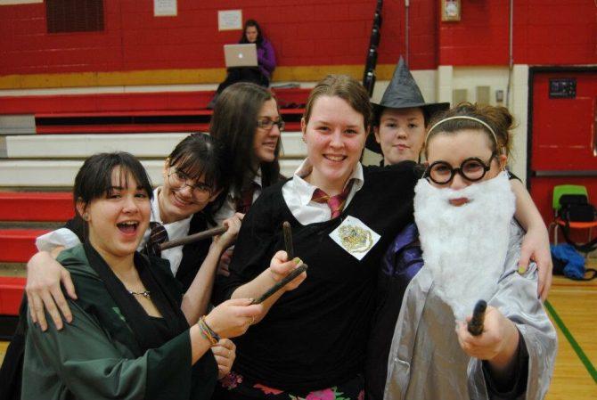 Harry Potter fan cosplay