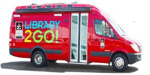 Red Library2Go Van