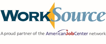 WorkSource A Proud Partner of the AmericanJobCenter network logo