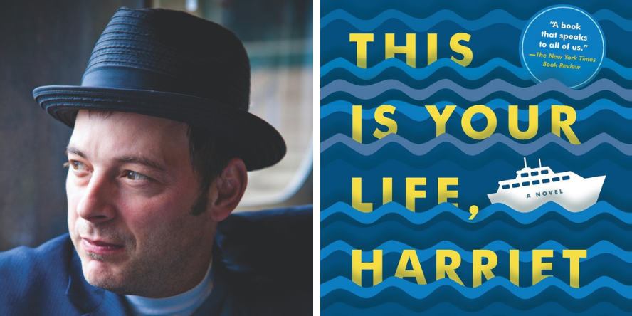 Jonathan Evison, author of This is Your Life, Harriet Chance