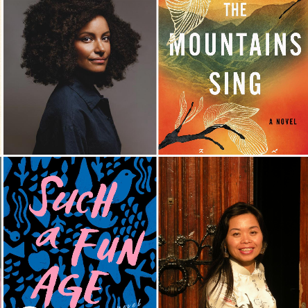 Featured authors coming to Author Voices: Terese Marie Mailhot (Heart Berries), Cristina Henrìquz (The Book of Unknown Americans), Nguyễn Phan Quế Mai (The Mountains Sing), and Kiley Reid (Such a Fun Age).