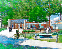New Atherton Library rendering.
