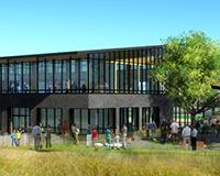 New Half Moon Bay Library rendering.