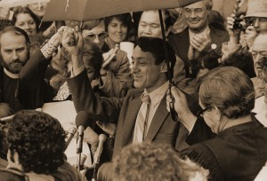Harvey Milk Sworn in as Supervisor of San Francisco.