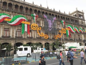 Mexican Independence Day decorations. Source: TJ DeGroat, Flickr.