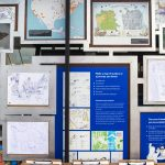 Explore the evocative map exhibits and create your own maps to pin on the Lookmobile's walls