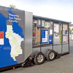 San Mateo County Libraries's Lookmobile, a new interactive mobile library.