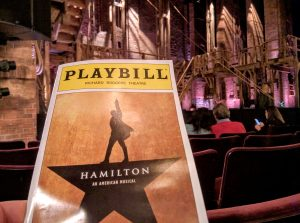 Playbill for Hamilton The Musical. Source: Travis Wise, Flickr.