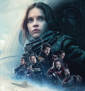 Rogue One: A Star Wars Story poster.