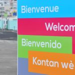 """""""Welcome"""" in different languages."""