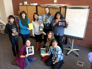 Some of San Mateo County Libraries' Teen Librarians.