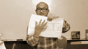 Comic artist Thien Pham.