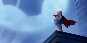 Captain Underpants movie poster.