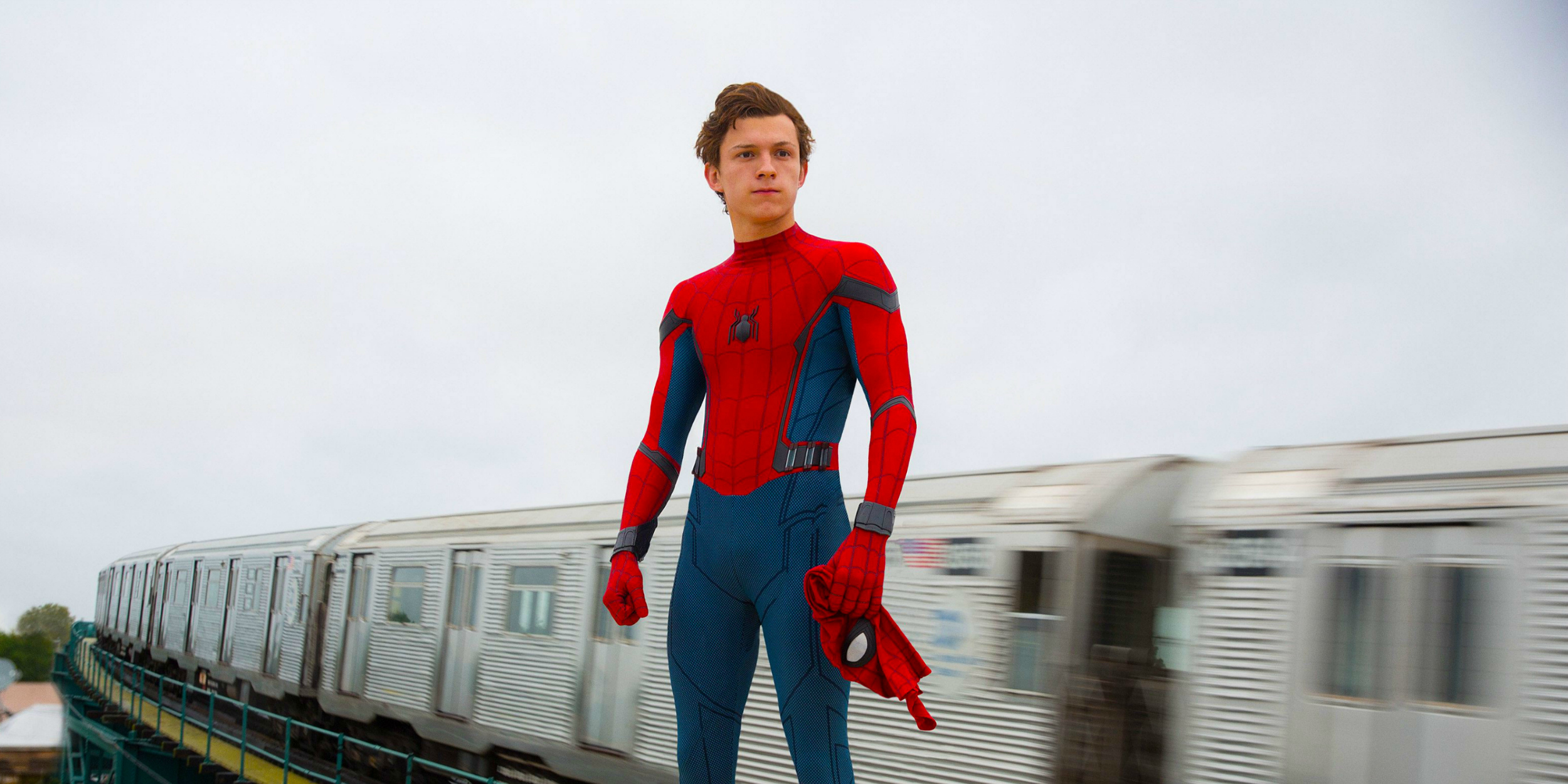 Scene from the upcoming Marvel Movie, Spider-Man Homecoming.