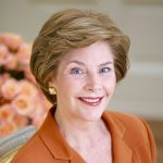 Former First Lady and Librarian, Laura Bush.