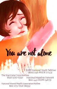 Teen Mental Health Poster Contest Finalist