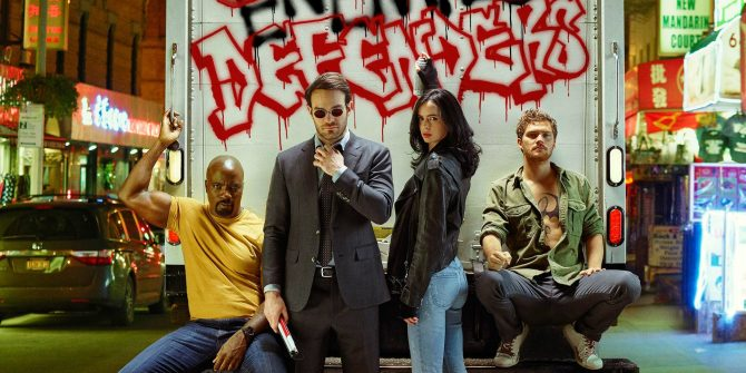 Marvel's Defenders television show image.