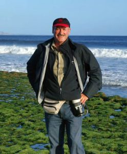 Photographer and author Dick Evans.