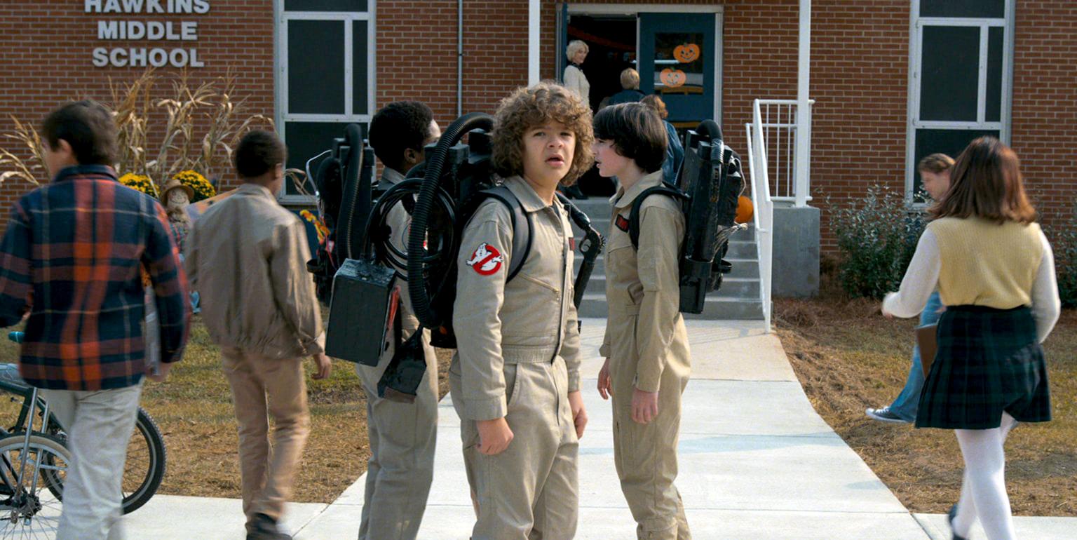 Scene from Season 2 trailer of Netflix' Stranger Things.